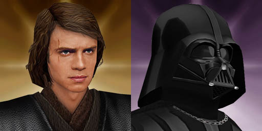 Anakin/Vader Source Files (3ds max 7)