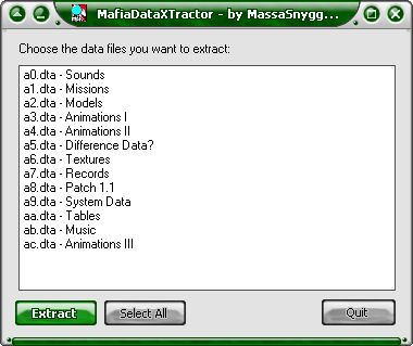 Mafia Data Xtractor v1.0