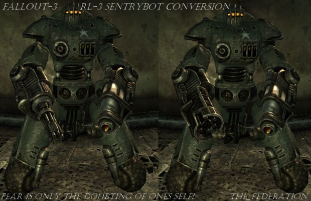 Fallout-3: RL3 SentryBot Conversion