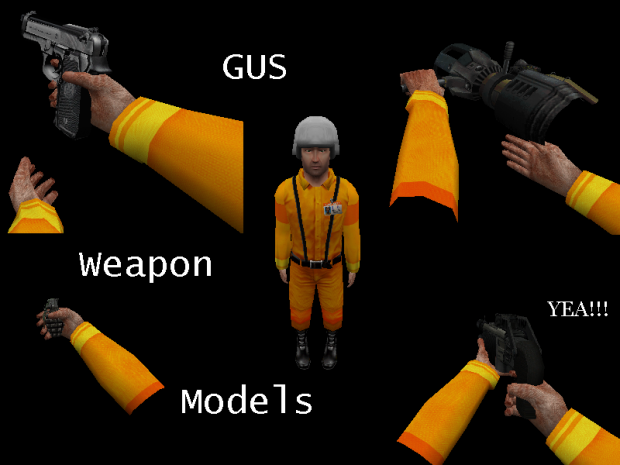 Gus's HD Weapon Models