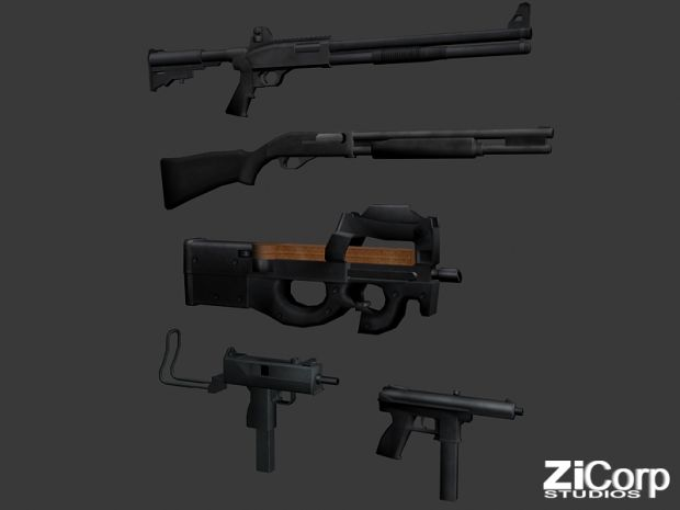 Free Modern Weapons pack02