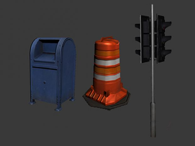 Free Street Objects Pack