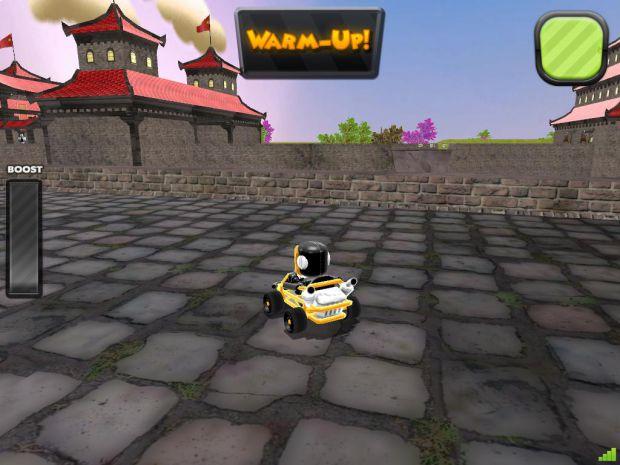 Zero Gear - Chinese Wall Race Map 2.0