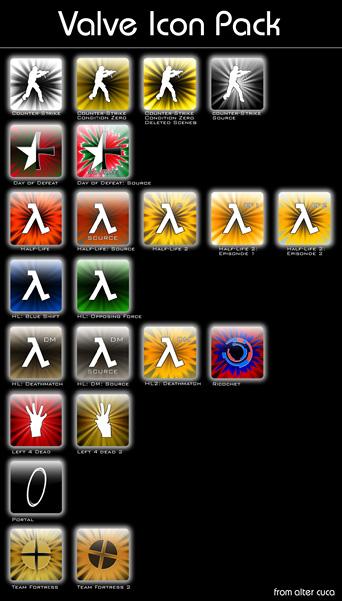 Valve Icon Pack