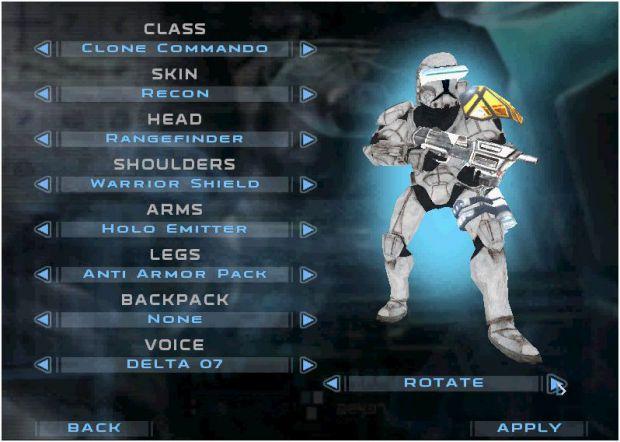 White Clone Commandos