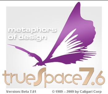 Truespace 7.61 Beta 8