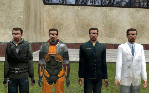 Gordon freeman ragdolls
