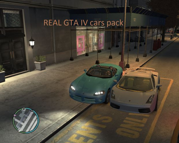 The Real GTA IV cars pack  BETA 1