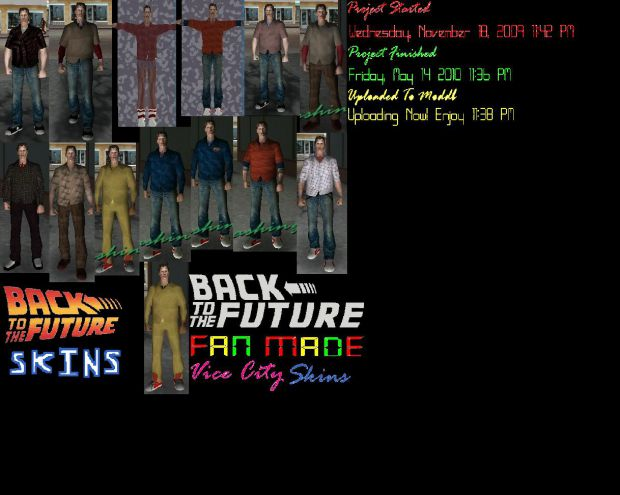 Fan Made Bttf Part 1 All Of Martys Looks Pack