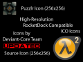 Updated HD Puzzlr and HL2 Icons