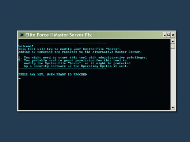 EF2 Master-Server Toogle fix patch
