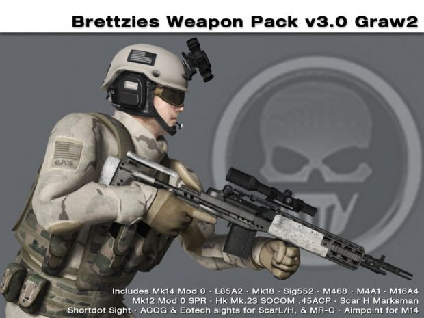 Brettzies Weapon Pack Intro Vid v3.0