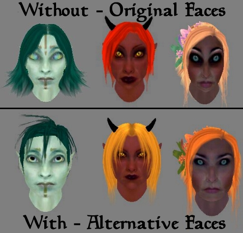 Integration Alternate NPC Faces plugin