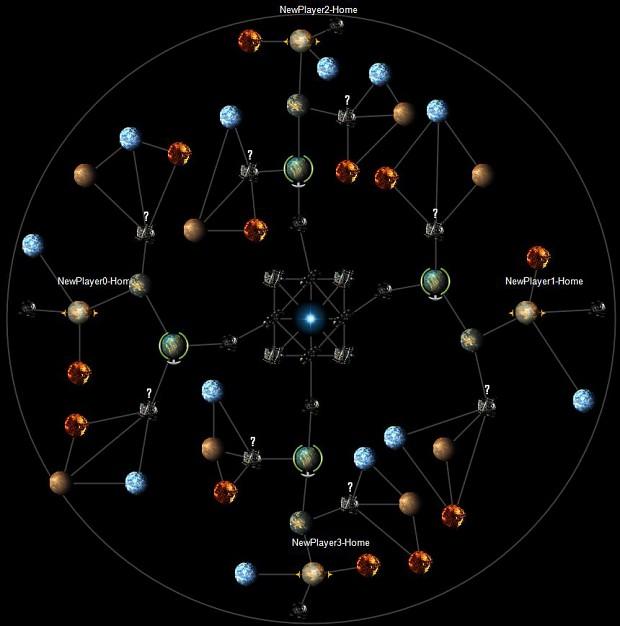 Riccars' Single Star Map (4players)