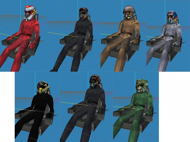 Freelancer Pilot Pack (ms3d)