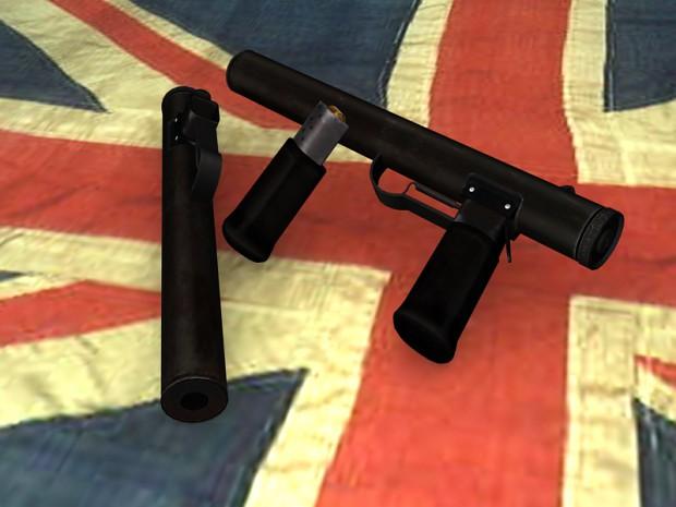 Welrod Silenced Pistol