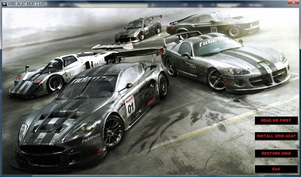 Grid AnyCar AnyTrack Mod (patch style installer)