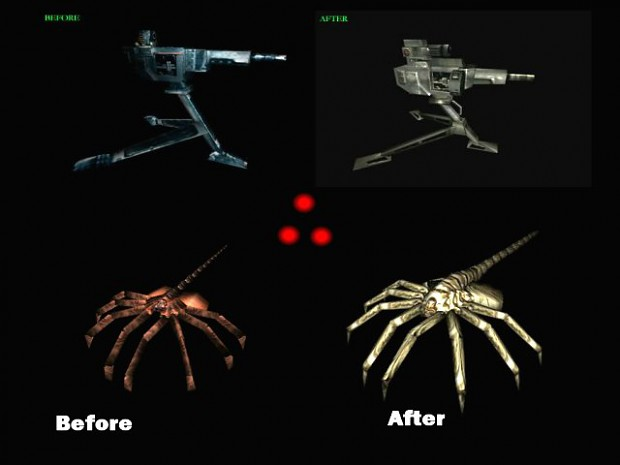 AVP1c  new Sentrys and Facehugger Pack ONLY!