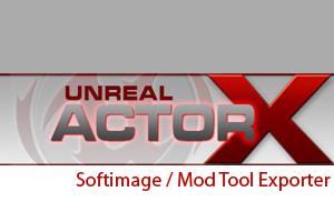 ActorX Softimage Exporter