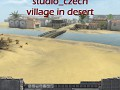 Village in desert