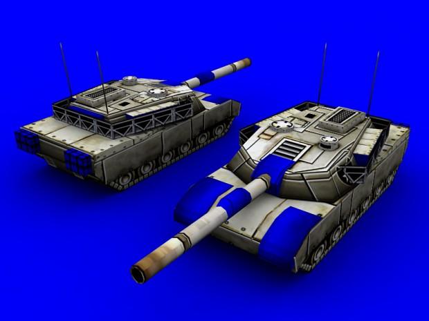 Public Model: USA M1A1 Abrams Tank