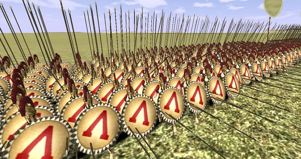 Spartan Skins for Rome Total War 1.5