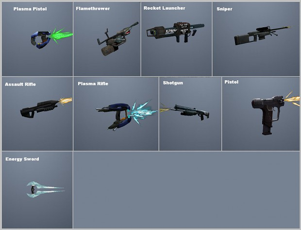 GTA Halo Weapons pack 1 - May contain bugs