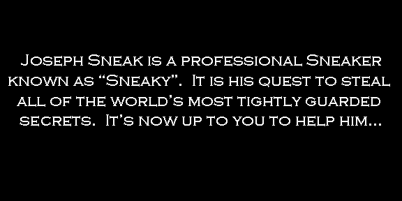 Sneaky The Game (first release)