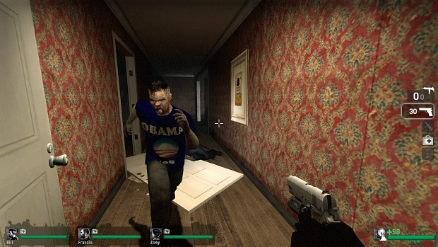 Liberal Zombies Left 4 Dead Mod