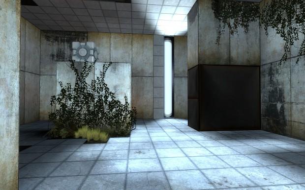 Portal 2 style map