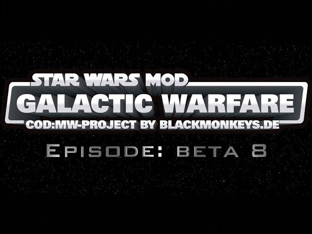 SWM: Galactic Warfare 0.8 Beta (Final 1.0 is out!)