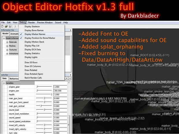 Object Editor Hotfix v1.3 full