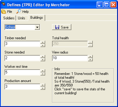 Merchator's Data Editor