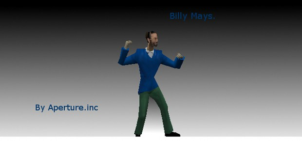 Billy  Mays Player and prop Model