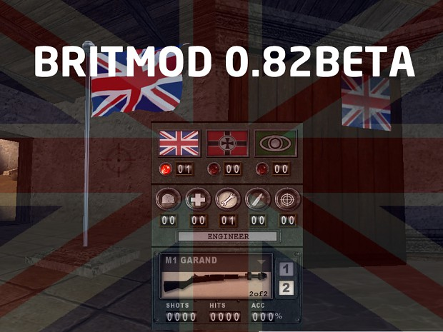 Brit-mod Beta 0.82