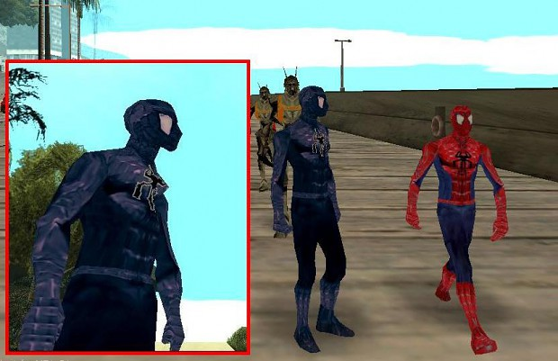 Spiderman Ped Or Cutscene Character