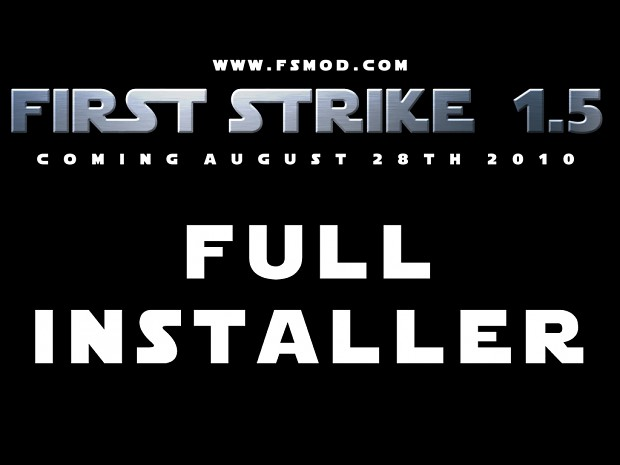 First Strike 1.5 Full Installer