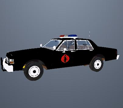 San Fierro Area Cobra Police Car