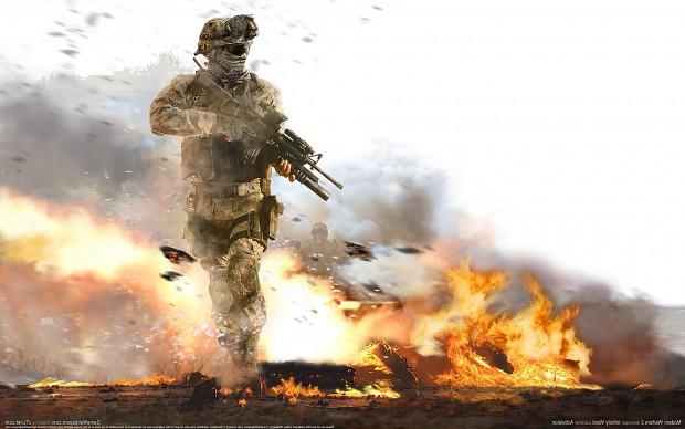 Call of Duty 2 Modern Mod v4 as Final Update