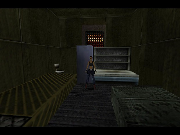 Tomb Raider: Lara Croft in Prison, in Nevada