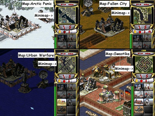 Ra2 Y'sR Map Pack