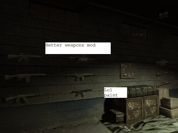 Stronger Weapons Mod 1.1