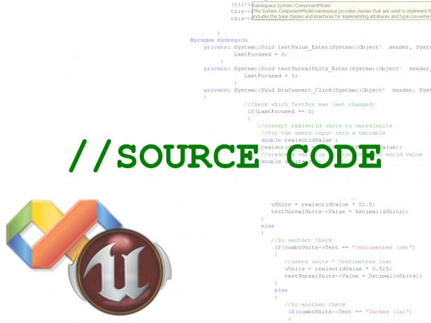Unreal Unit Converter : - Source Code