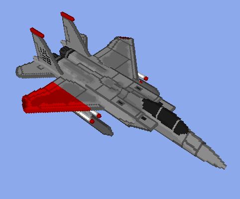 F-15 Pixy Scheme Voxel