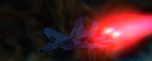 F-22 & Su-35 mod
