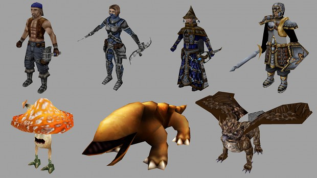 100+ FREE Fantasy Assets by Digital Roar Studios