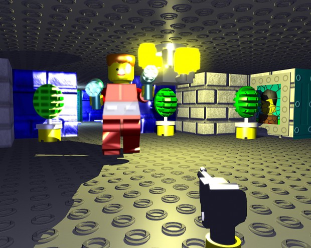 LEGOWolf3D Beta 1B - includes Gretel Grosse level