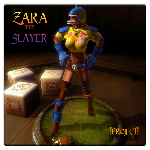 [Project] Amazons Zara model for Blood Bowl