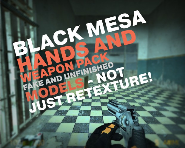 Black Mesa Hands and Weapons