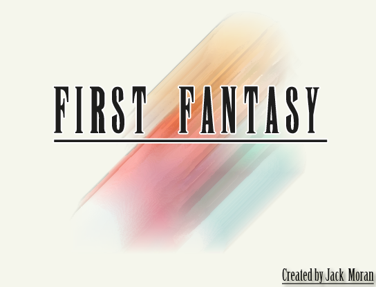 First Fantasy Version 1.0.3.0 Patch